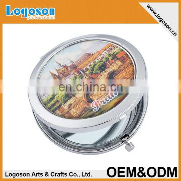 Factory Wholesale simple travel pocket mirror
