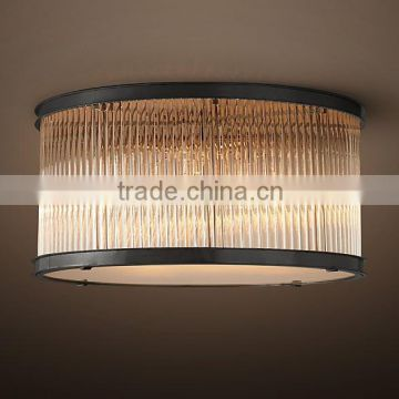 New design flush mount kitchen crystal chandelier light