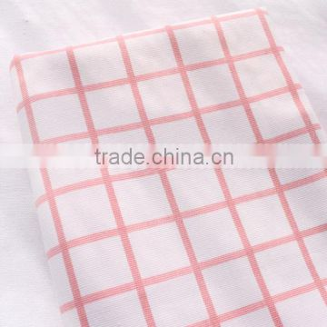 Textiles fair trade 100% cotton sateen printed muslin stripe fabric for clothing