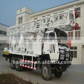 Most Capable Water Well Rig, HFT350B Truck-mounted Drilling Rig