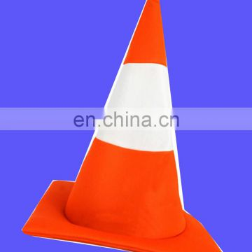 ROAD TRAFFIC CONE HAT NOVELTY FANCY DRESS HEN STAG NIGHT PARTY STUDENT FRESHERS