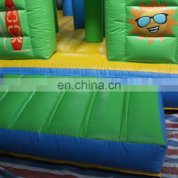 Hot sale inflatable combo , inflatable obstacle for kids