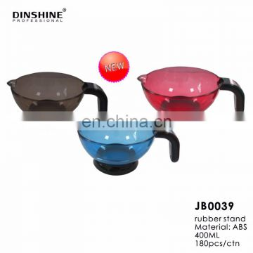 2017 high quality with rubber stand barber tint bowl