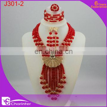 nigerian coral beads african beads jewelry set costume jewelry sets K303-3