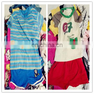 baby girls and boys cotton material gently used kids outfits from Japan