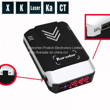 Original korea ANW GPS anti radar detector speed camera with 360 degree laser detection
