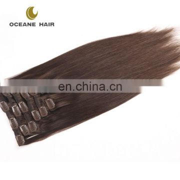 220 grams remy clip in hair extensions