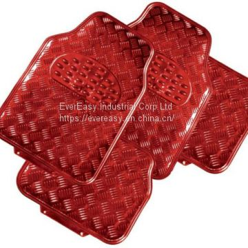 PVC or rubber car mat foot pad car cushion