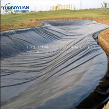 impervious membrane hdpe geomembrane / fish farm irrigation pond liner thailand