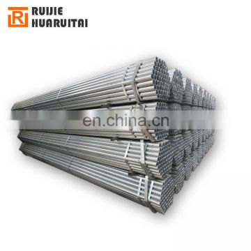 Hot dip galvanized steel pipe price, bs1387 galvanized steel pipe price per meter, ss400 galvanised pipe class b
