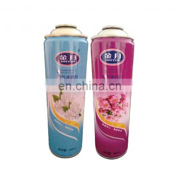 Hebei Air Freshener Tinplate Aerosol Can and spray perfume can with