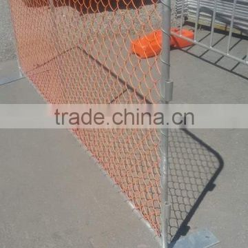 Metal road safety barricade,used temporary PVC parking