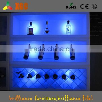 Wholesale plastic LED ice bucket Bar use bottle beer cooler LED bucket