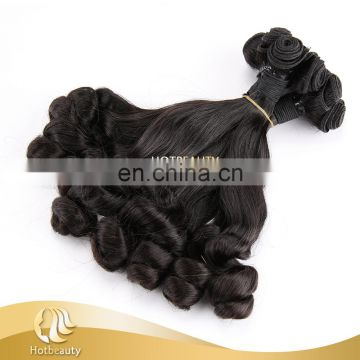 Hot Beauty Funmi spring curl 8''-18'' virgin black no tangle no shed hair weave
