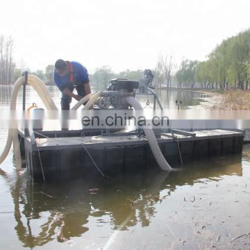 2018 Made in China portable dredge gold mining sand sucking machine
