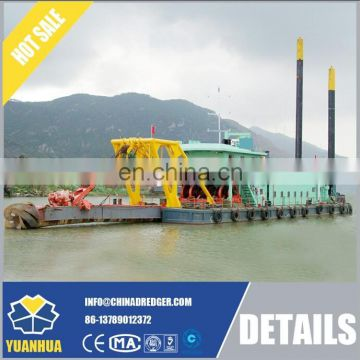 750mm / 800mm diameter 8500 m3/h water flow output capacity large hydraulic cutter suction dredger for sale