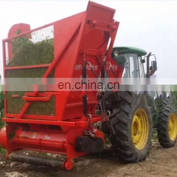 Hot selling tractor driving cotton stalk silage harvester