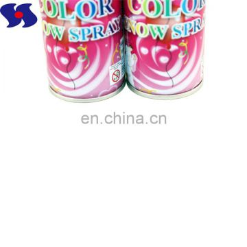 Diameter 52mm Printing Empty Aerosol Tin Cans for Snow Spray 150ml