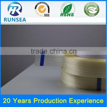 hot sell filament fiberglass tape thermal tape with fiberglass fiberglass synthetic rubber adhesive tape