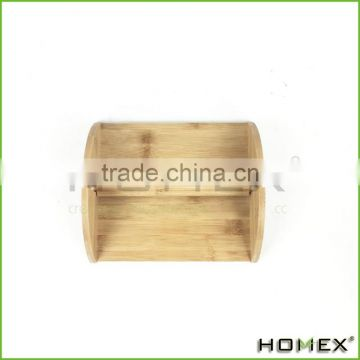 Healthy Eco-friendly Bamboo Napkin Holder Homex-BSCI