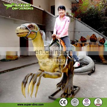 Amusement Park Entertainment Coin Operated Dinosaur Rides