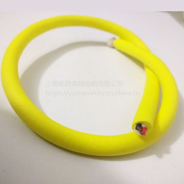 Neutrally Buoyant Floating Cable Bending Resistance Outdoor