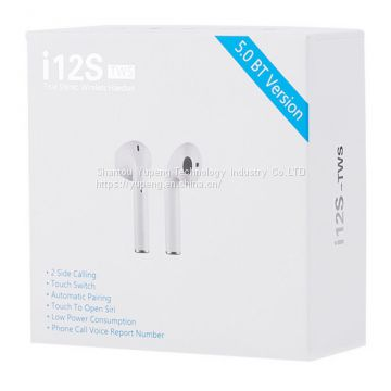 headset Mini Blue Tooth 5.0 True Stereo Wireless Earbuds with Touch Control Headset in Cheaper Price