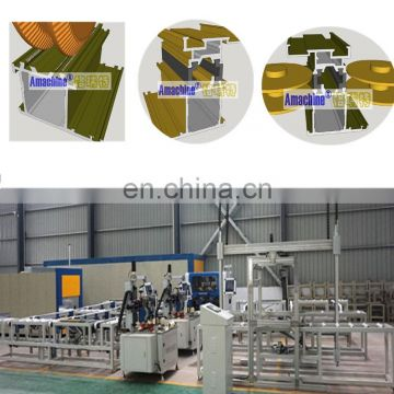 1.Fully automatic-CNC  thermal break assembly production line for aluminium profiles  (Most popular)