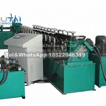 Double C U light steel framing roll forming machine