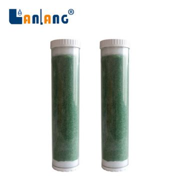 Color indicator DI pure water filter cartridge