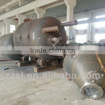 Nitrogen pressure vessels with good quality