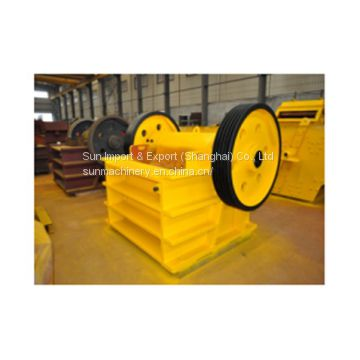 china supplier jaw crusher PEX250*1000 experienced manufacturer high quality competitive price