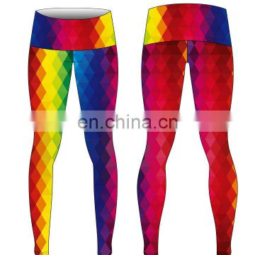 Customized Breathable work out seamless yoga gym shark leggings women