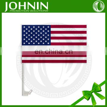 Wholesale Good Quality Cheap Price Promotional America Car Window Flag