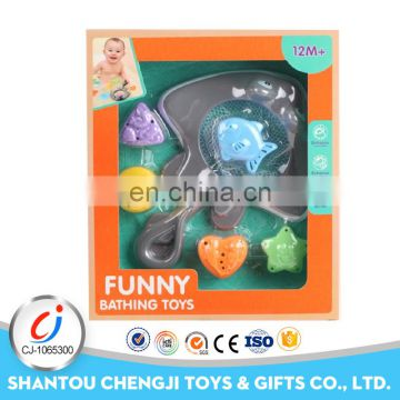 Hot sales kids game plastic summer small plastic toy fish