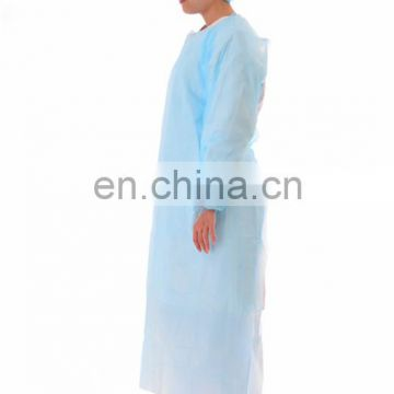 Hospital disposable CPE isolation gowns