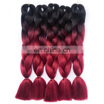 Bundle Weft wholesale synthetic hair extensions braids