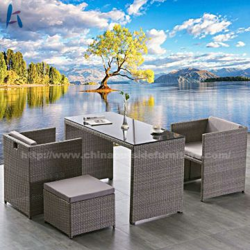 outdoor wicker chairs with ottomans