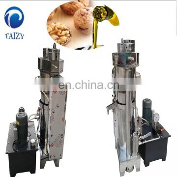 Hydraulic sesame cold press oil press machine