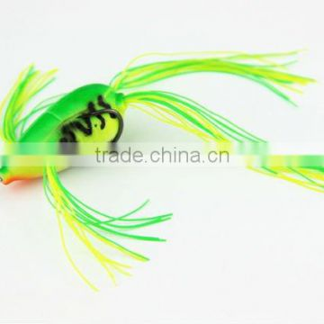 Wholesale 45mm8g Soft Frog Silica Gel Soft Fishing Lure