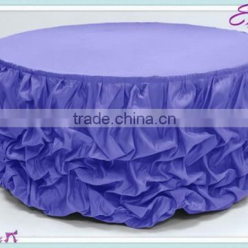 Yhk 66 Ruffled Table Skirt Polyester Banquet Wedding Wholesale