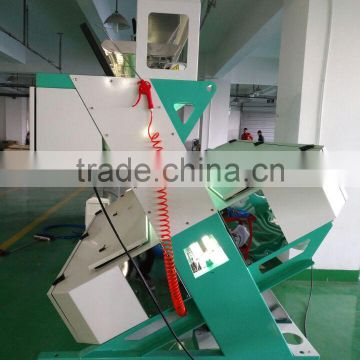 High productivity 5 chutes electronic mini barite color sorter machine