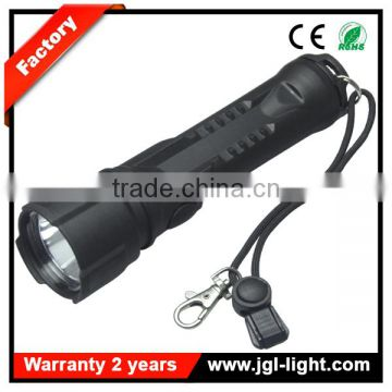 210Lm rechargeable heavy duty torch light cree 3w rechargeable led torch