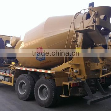 Sinotruk Well-Used HOWO A7 8 m3 Concrete Mixer Truck with Low price for sale