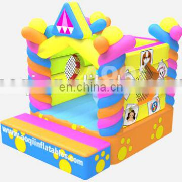 2015 new design interesting best seller super quality pet house inflatable bouncer