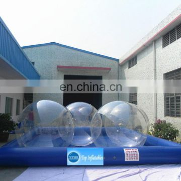 2m walk on inflatable water roller ball