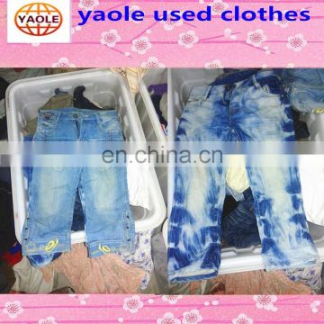 used clothing from usa jean short pants used clothing stores