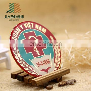 cheap custom metal round shape pin button badge