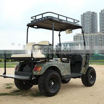 4 Seaters 4WD Electric Hunting Golf Cart with independentd suspension system and 4KW DC Motor| AX-C2+2 4X4