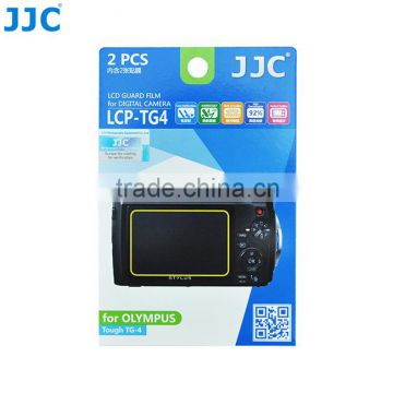 JJC LCP-TG4 LCD Guard Film Camera Screen Protector for OLYMPUS Tough TG-4